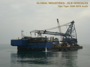 DLB Hercules - Global Industries - Ops Tiger 2008 ISPS Audit SC