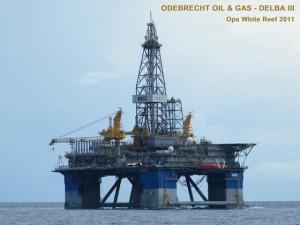 Delba III - Odebrecht - Ops White Reef 2011 SC